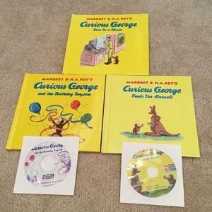 Curious George Books (Bundle of 3)